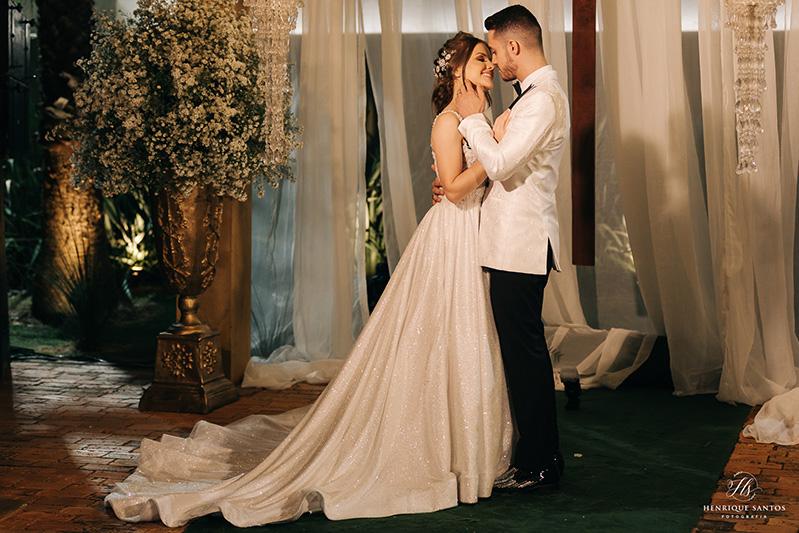 80 fotos de casamento à noite na Chácara Dona Anna! 71