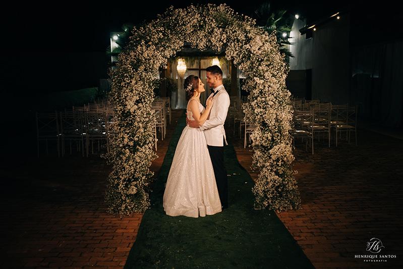80 fotos de casamento à noite na Chácara Dona Anna! 79