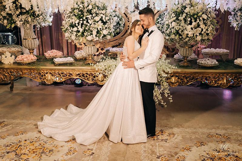 80 fotos de casamento à noite na Chácara Dona Anna! 72