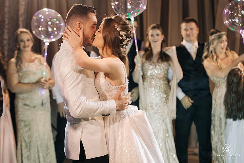 80 fotos de casamento à noite na Chácara Dona Anna! 73