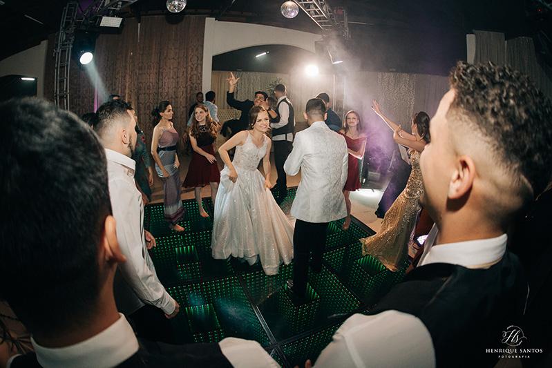 80 fotos de casamento à noite na Chácara Dona Anna! 76