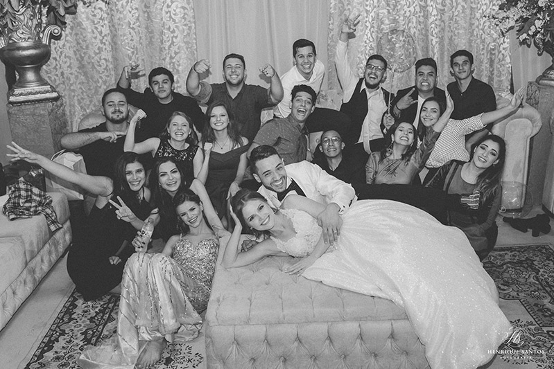 80 fotos de casamento à noite na Chácara Dona Anna! 78