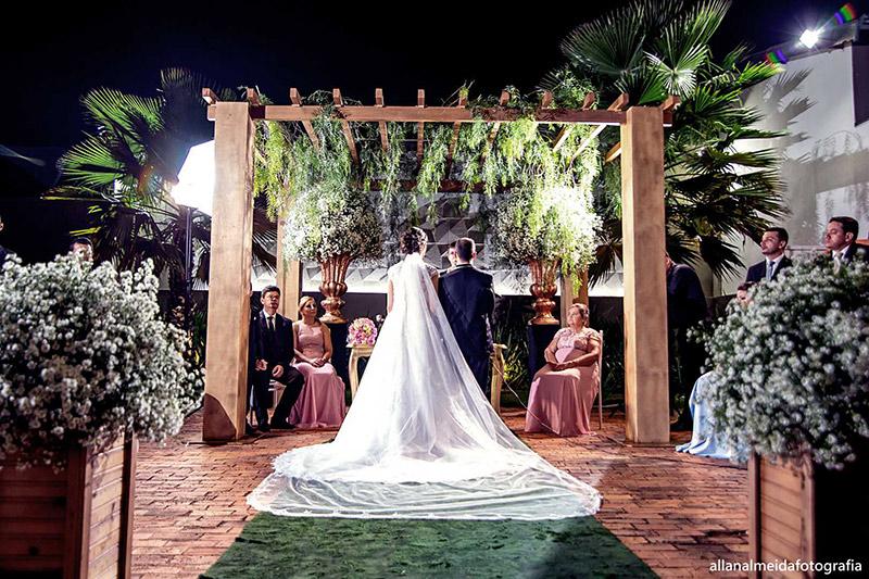80 fotos de casamento à noite na Chácara Dona Anna! 39