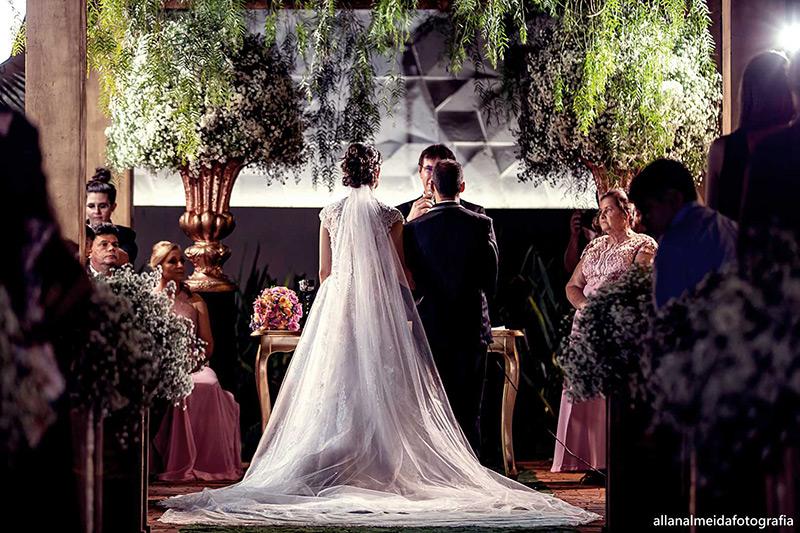 80 fotos de casamento à noite na Chácara Dona Anna! 36