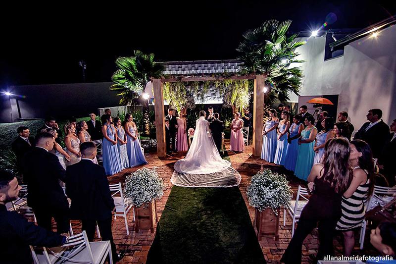 80 fotos de casamento à noite na Chácara Dona Anna! 37