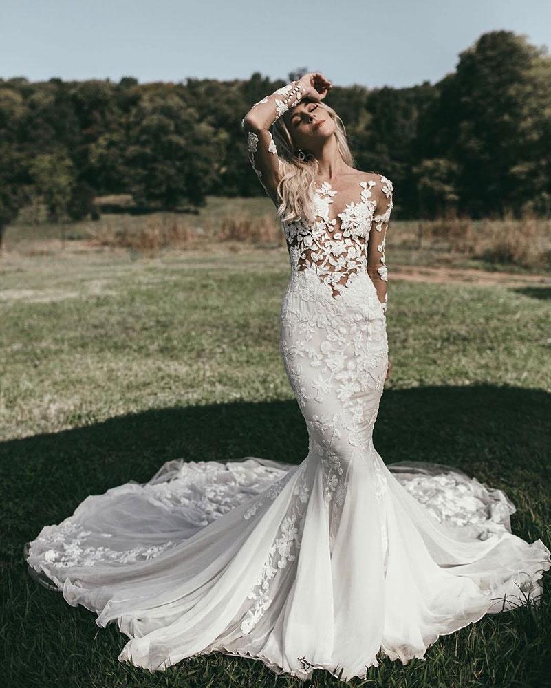 8 Tipos de Vestidos de Noiva Para Cada Corpo! 4